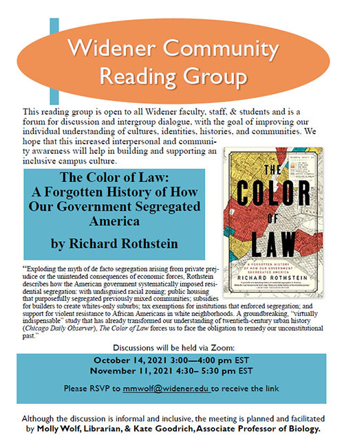 Community Reading Group Flyer