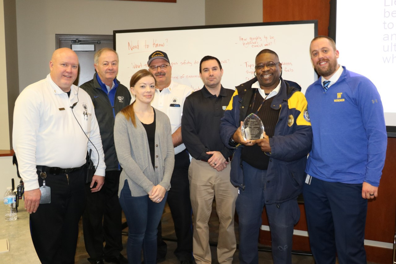 Campus Safety Live Saving Award