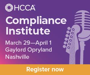 HCCA Compliance Institute