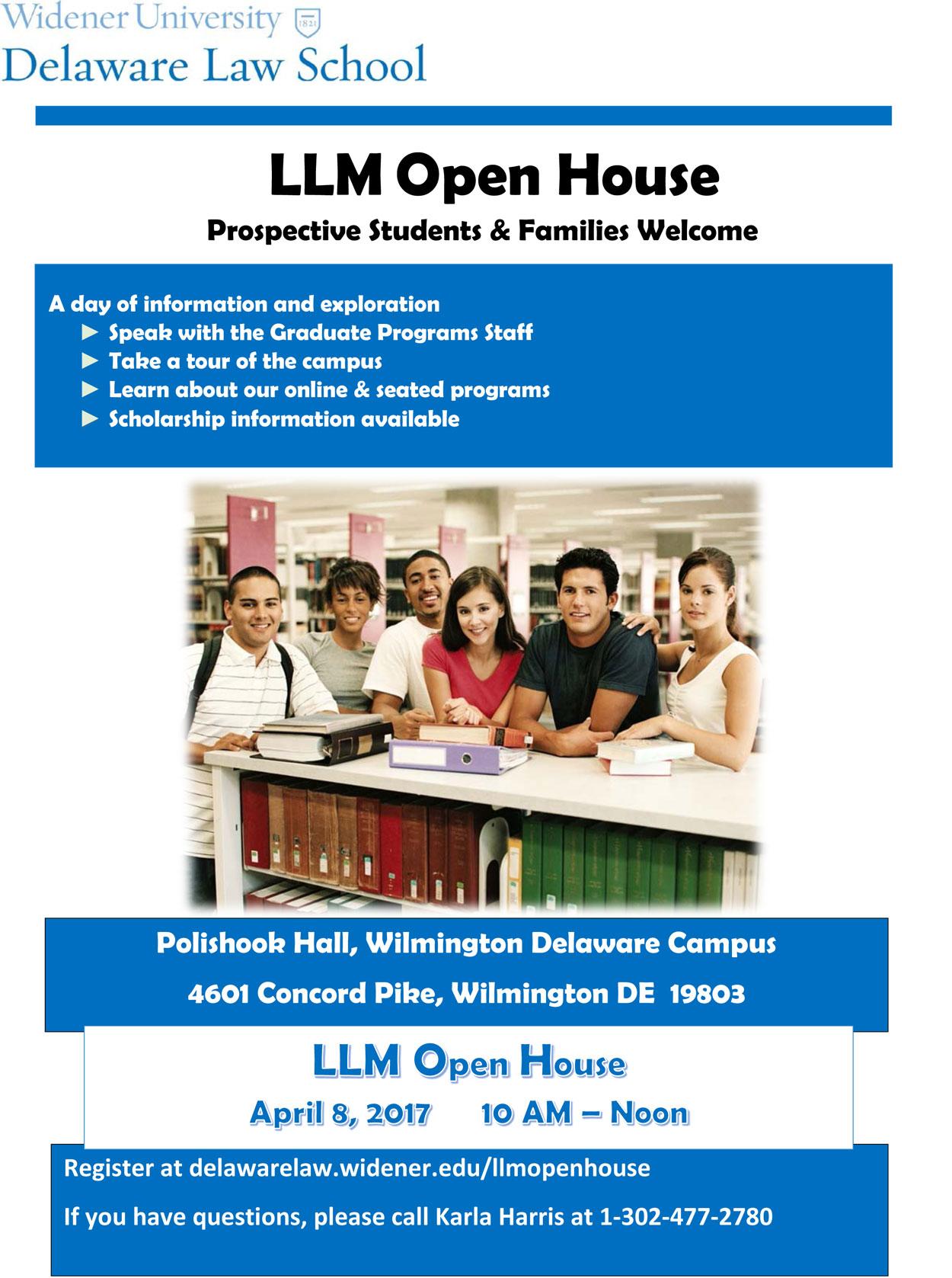 LLM Open House 2017